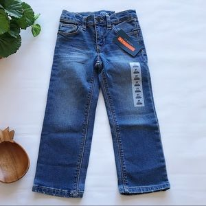 Old Navy Boys 3T Straight Blue Jeans Built In Flex